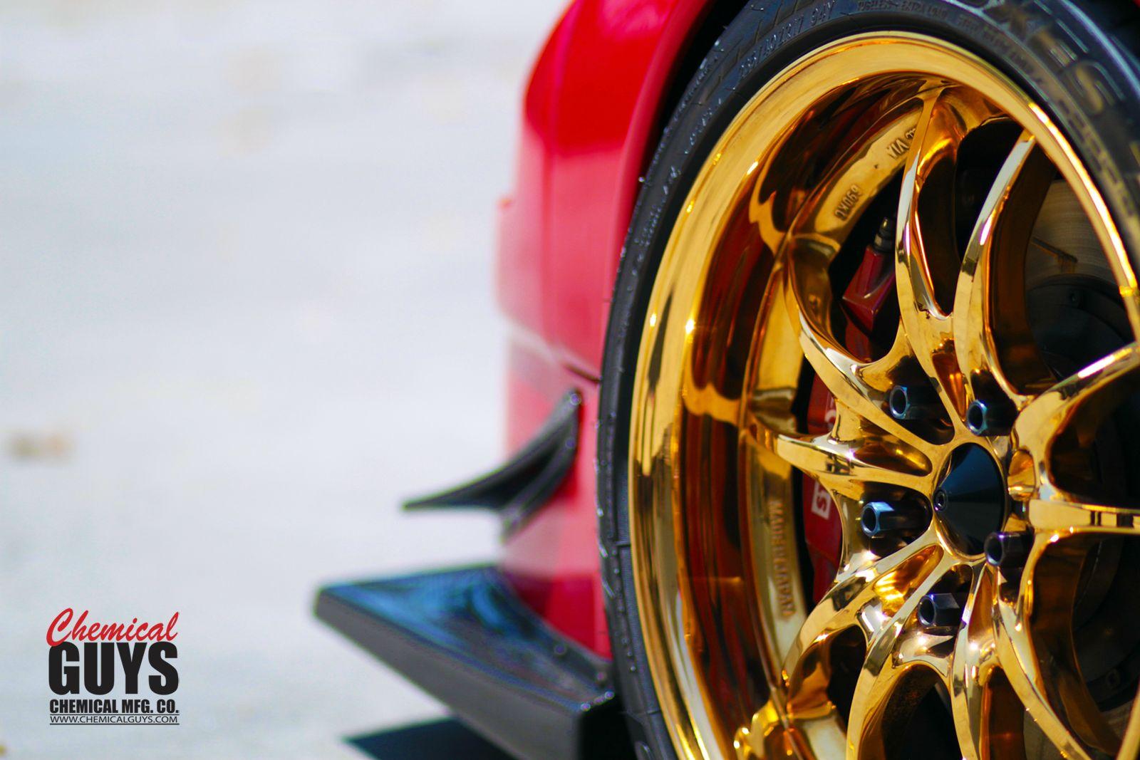 Wallpaper Thursdays Wheel Guard And Goooold Chemical Guys Mfg Co Auto Detailing Supplies